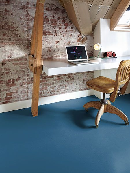 Where to Use It: Office | All About Linoleum Flooring | This Old House Mobile