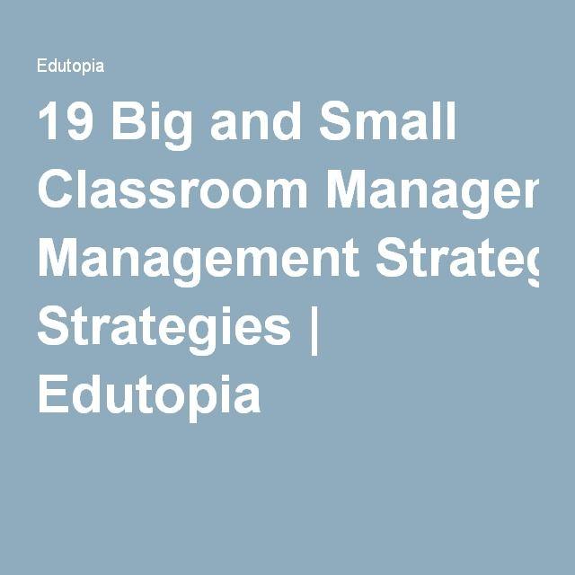 the smart classroom management plan for high school teachers pdf