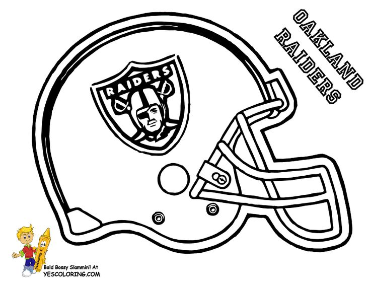 slide crayon on afc football helmet coloring pictures now kids can have print outs of nfl football sports coloring of buffalo bills chiefs raiders