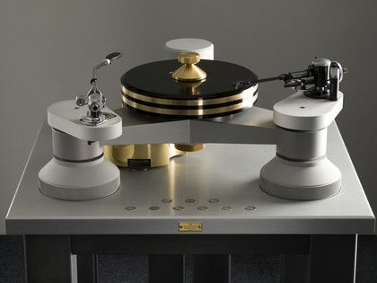 High-End Turntables | High end audio guys are every bit as convinced that heavy and inert is ...