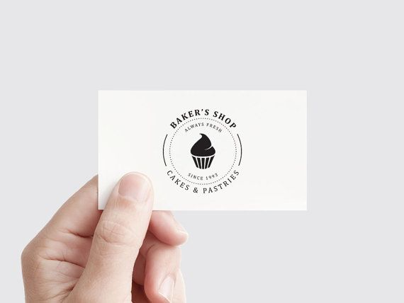 pre made logo bakery logo restaurant cup cake vintage old custom logo affordable ideas concept graphic design logo edit business - Graphic Design Logo Ideas