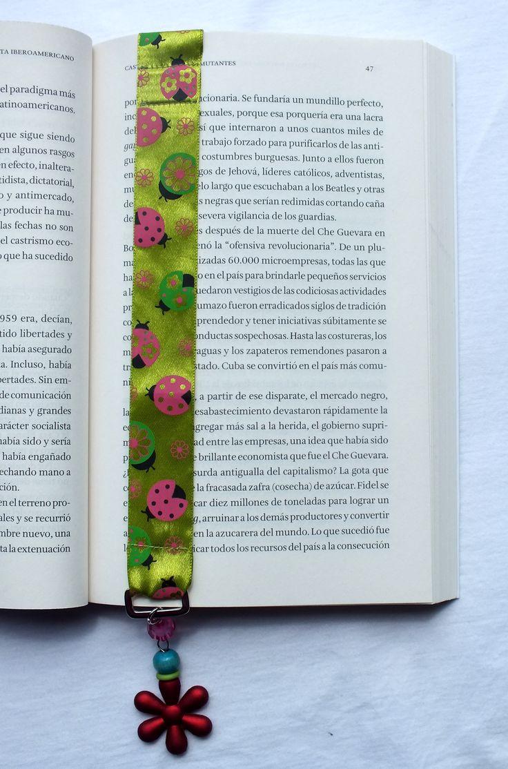 Marca páginas verde
