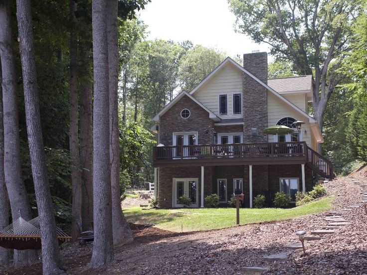 Littleton Vacation Rental - VRBO 276478 - 4 BR Lake Gaston House in NC, 'Casa De Lago' Upscale Lakefront Home- Lake Gaston NW
