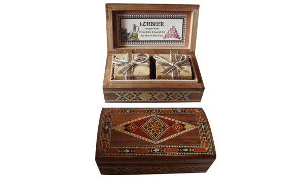 Gift Aleppo zeep: Traditionele Mozaïek Schönes Lorbeerseife video / Produkte http://www.lorbeer-de.com/