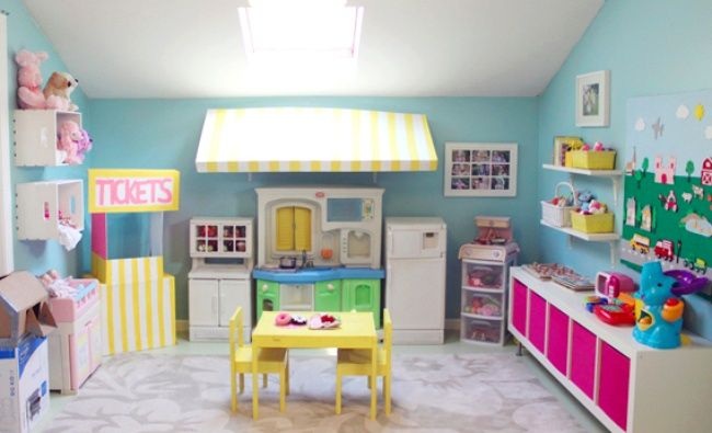 Cafe Themed Playroom