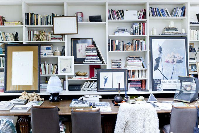 shelving (jane mayle's paris apartment)