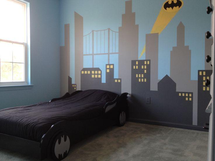 batman bedroom decor | 25+ best ideas about Batman Room Decor on Pinterest | Batman room ...