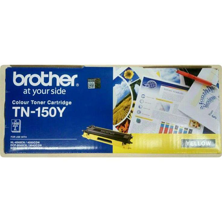https://www.i-sabuy.com/ รูปสินค้า ตลับหมึกโทนเนอร์ TN-150Y เหลือง Brother