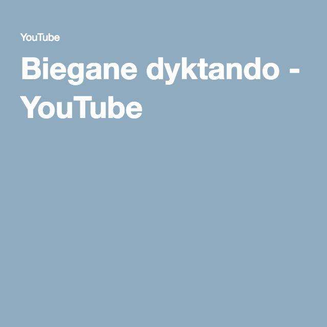 Biegane dyktando - YouTube
