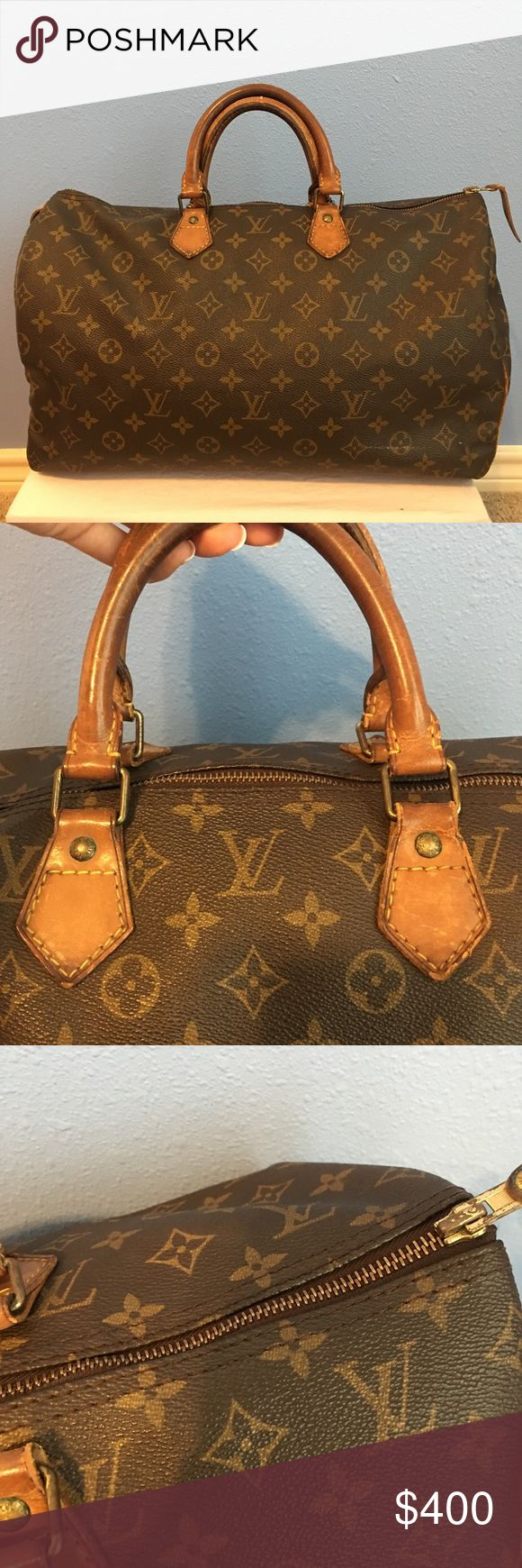 Louis Vuitton Speedy 40 Gently Used Condition! Comes With lock and key! Louis Vuitton Bags Satchels