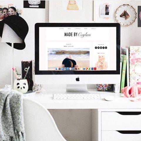 Die besten 25+ mac Schreibtisch Ideen auf Pinterest - buro schreibtisch designs steigern