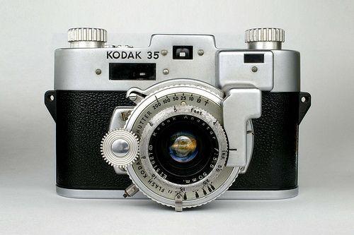 Kodak 35 Rangefinder Camera | This is my second Kodak 35 ran… | Flickr