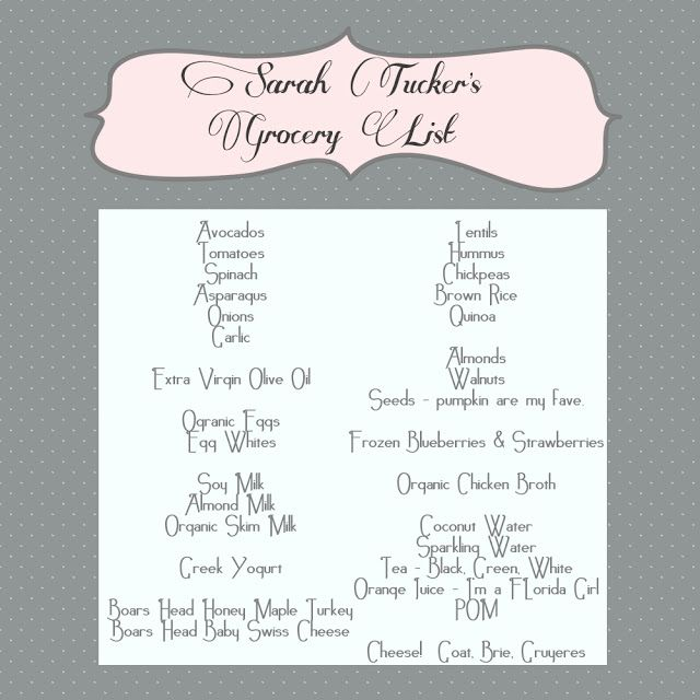 fairytales: | Grocery List |