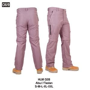 Celana Panjang Gunung dan Hiking tipe Cargo Pria [HLM 028] (Brand Trekking)…