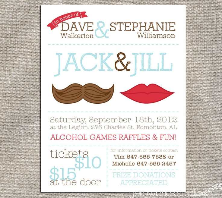 Jack Jill Tickets Mr And Mrs