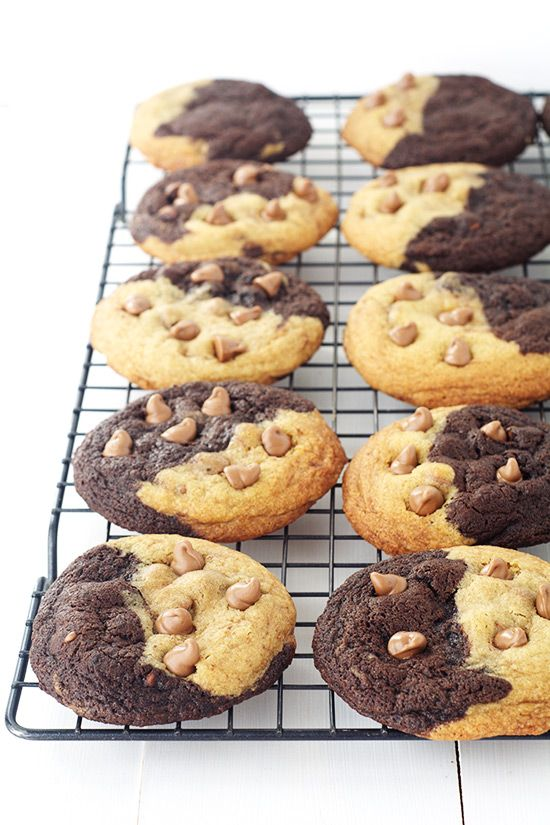 These Brookie Cookies are the best of two worlds: part brownie cookie and part chocolate chip cookie. They will disappear in a flash!