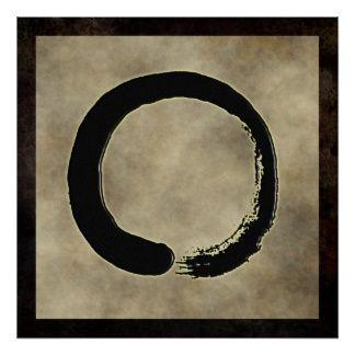 zen circle poster | Zen Posters, Zen Wall Art