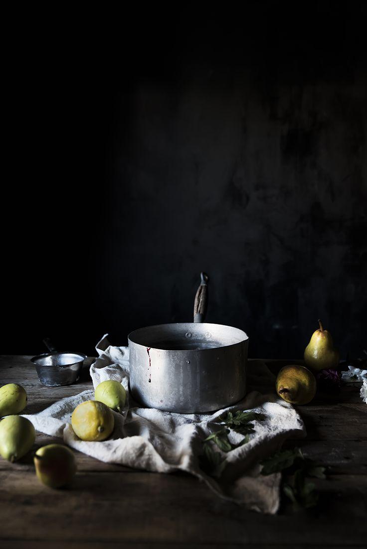angel food pancake con pere cotte al succo d'uva