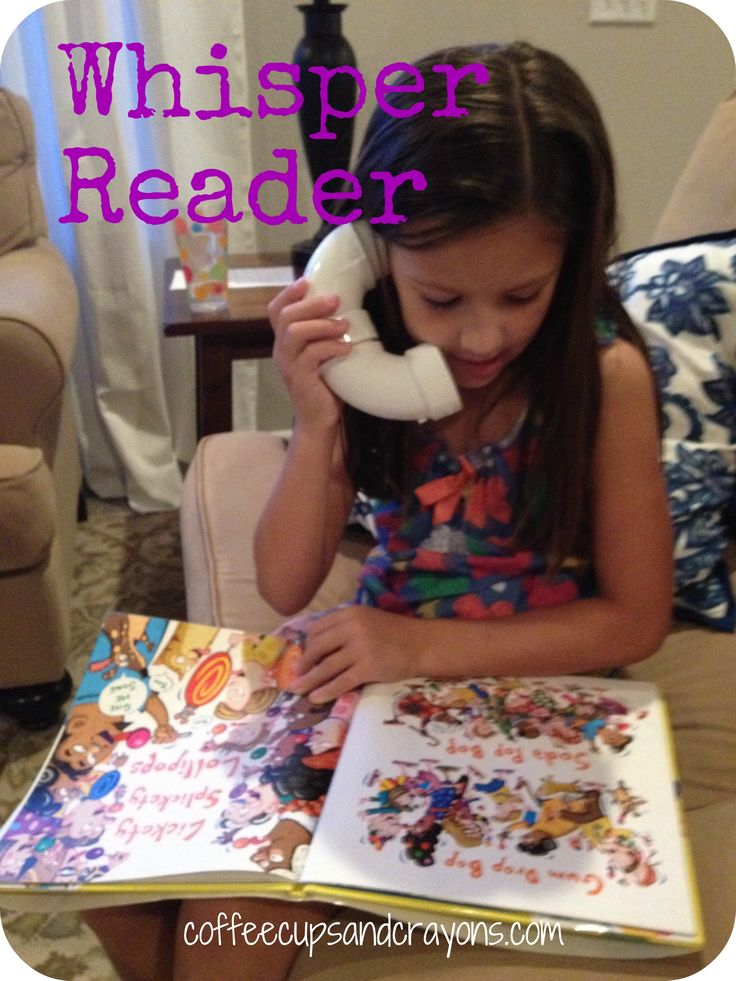 Fluency 1- Practice Reading with a Whisper Reader. This activity could be used in centers, and could also be sent home as part of the traveling book bag program. The whisper reader amplifies the students speech so they can hear themselves reading.