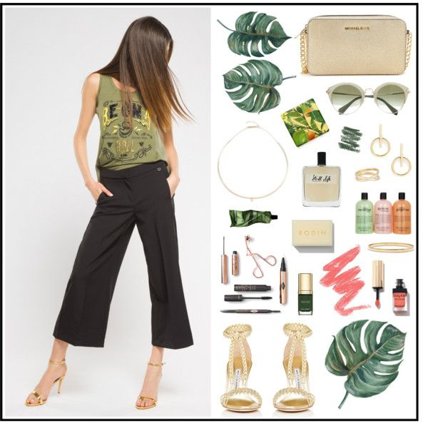 A fashion look from May 2017 by Met Jeans #met #metjeans #polyvore #look #outfit #summer #style #fashion #woman #apparel