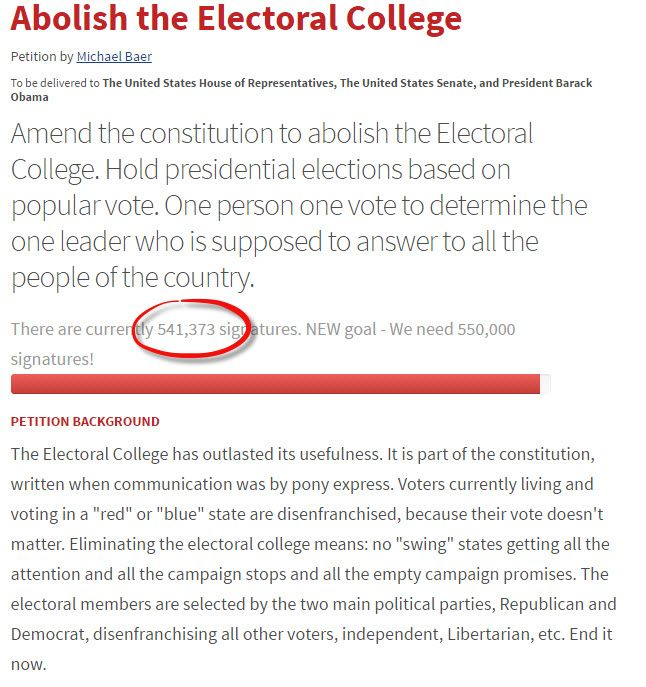 """2012 Redux - Liberal News Site Slate Defends Electoral College: """"The Argument That It Is Undemocratic Falls Flat"""" 