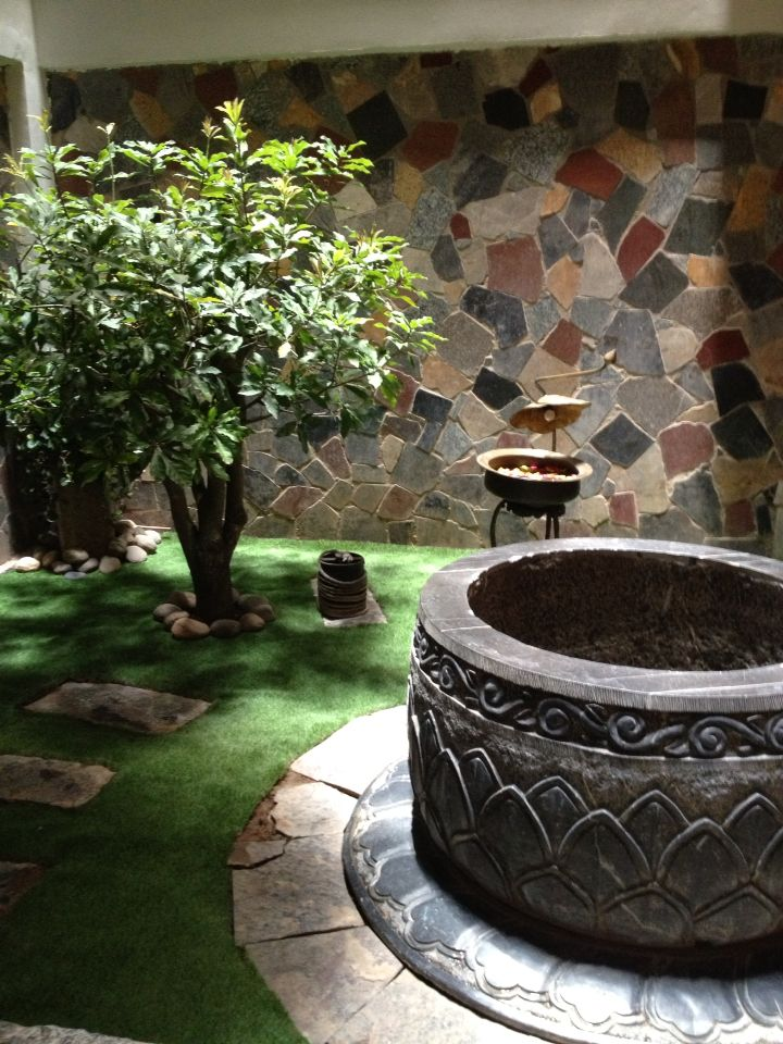 An old well in Hanoi hotel