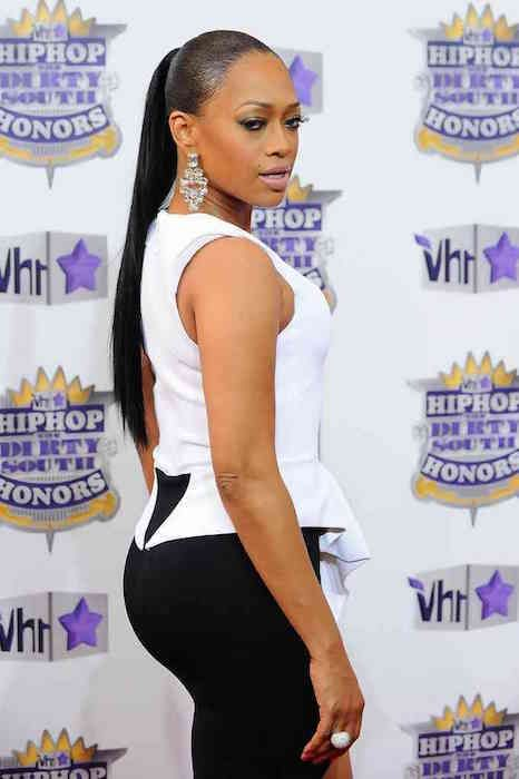 Rapper Trina is 5 ft 2 in or 157 cm tall...