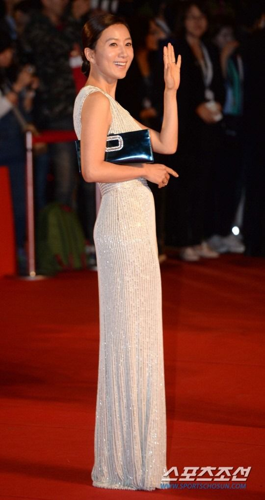 Kim Hee-ae 2014 Busan International Film Festival's opening red carpet