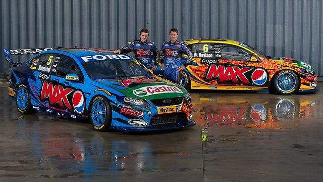 Australian V8 Supercars Pepsi Max Crew/FPR 2013 Falcon