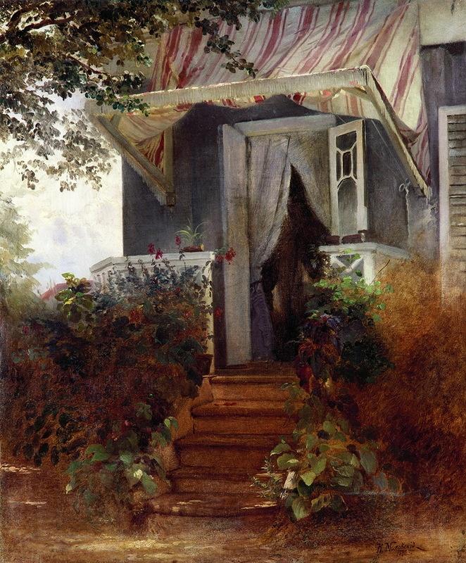 НАШЕ НАСЛЕДИЕ — «Константин Егорович Маковский. На крыльце 1875» на Яндекс.Фотках