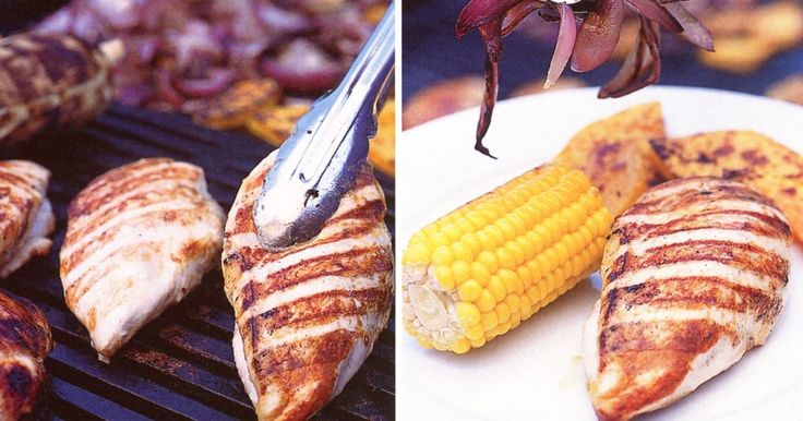 Use your barbie to create this family favourite starring chargrilled chicken and a pumpkin and corn side.