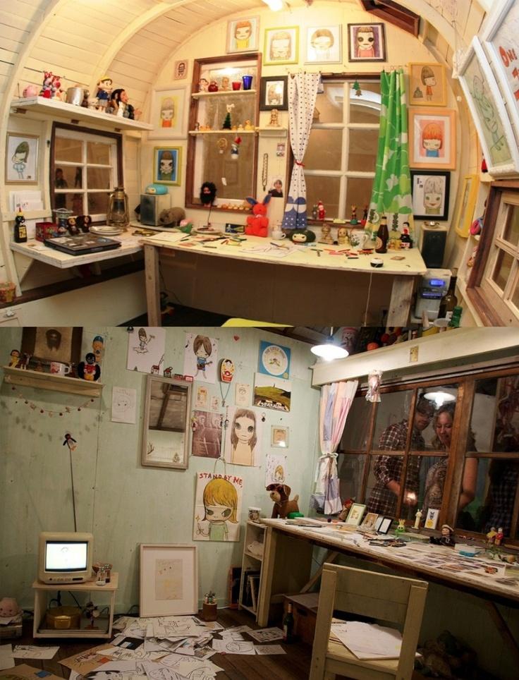 Nara artist studio room