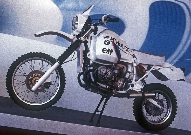 BMW Paris-Dakar Motorcycle | BMW GS Paris Dakar Rally Gaston Rahier motorcycle
