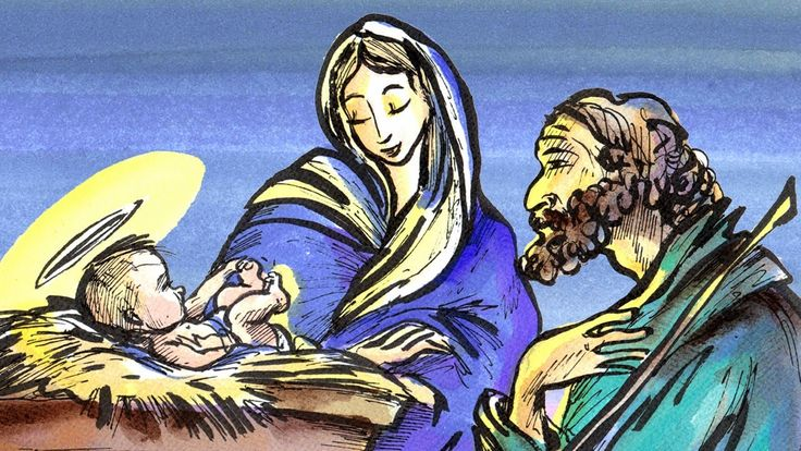 """The First Christmas: Learn French with subtitles - Story for Children """"B..."""