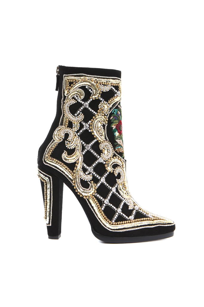 'This beaded, embroidered bootie from Balmain A/W12 is my pick for shoe of the season! I'd wear it with black leather skinnies and a white tee...'  Tamara, fashion features writer