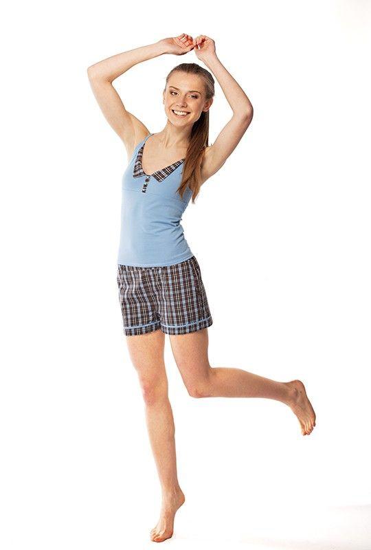 Пижамный комплект Preppy топ с шортами | Магазин Taksama