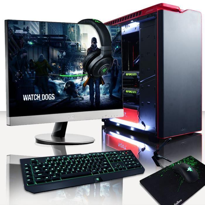 vibox legend pack 8 - 4.4ghz intel 8x core, nvidia gtx 980 sli, 32go ram, 3to, gamer pc - windows 7 inclus - Achat / Vente unité centrale + écran Vibox Goliath Package 15 - ... - Soldes* d'été Cdiscount