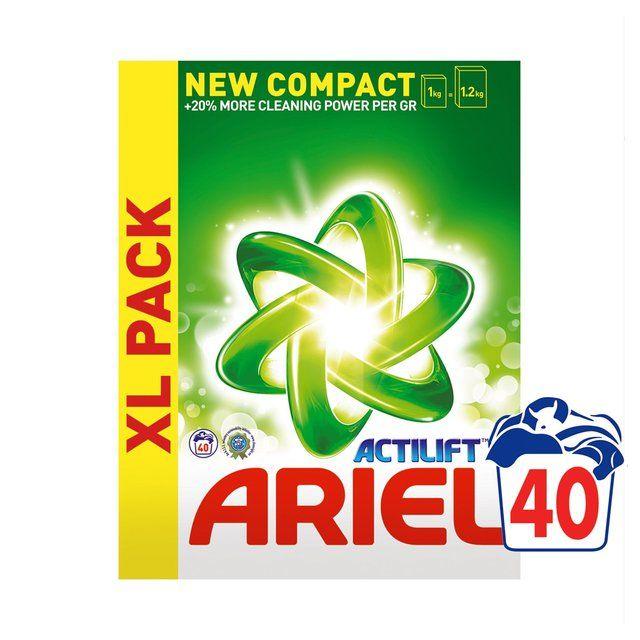 Ocado: Ariel Bio Washing Powder 40 Wash 2kg(Product Information)