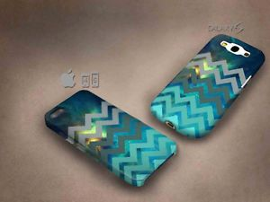 Nebula Zigzag 3D case, full image, for iphone 4/5/5c & Galaxy S3/S4