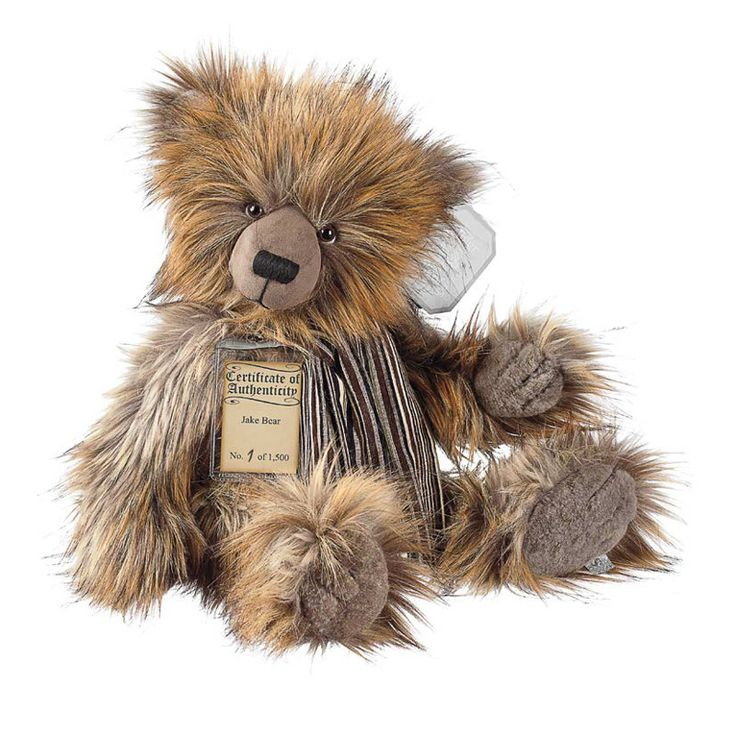 Suki Teddy Bear Jake - Silver Tag Bear - Collection 4