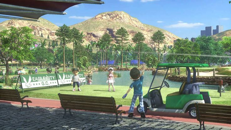 """Owl City """"Clap your Hands"""" Everybody's Golf"""