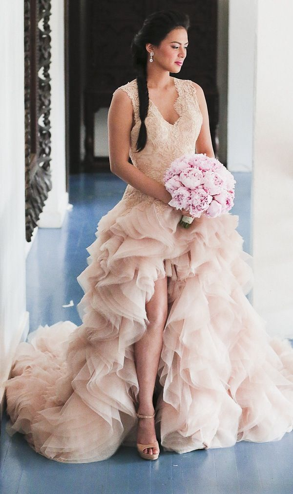 Celebrity Wedding in the Philippines – fashion dresses
