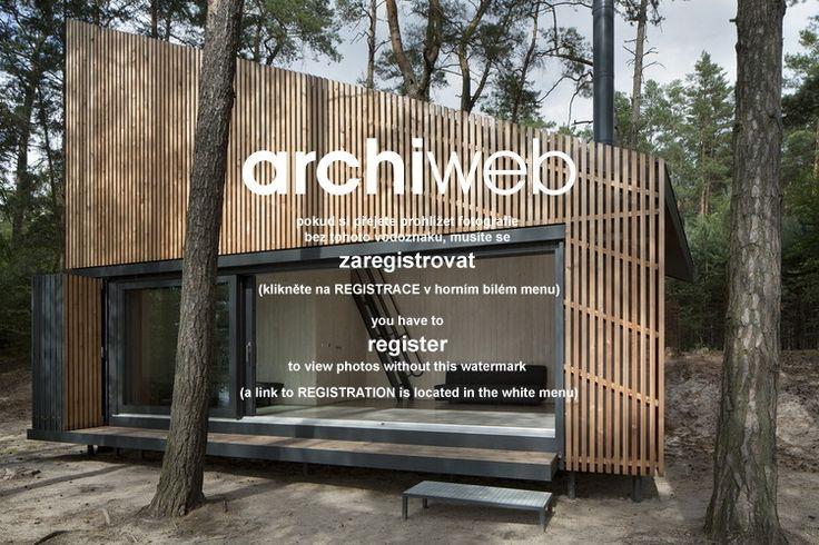 archiweb.cz - Chata u jezera, severní Čechy