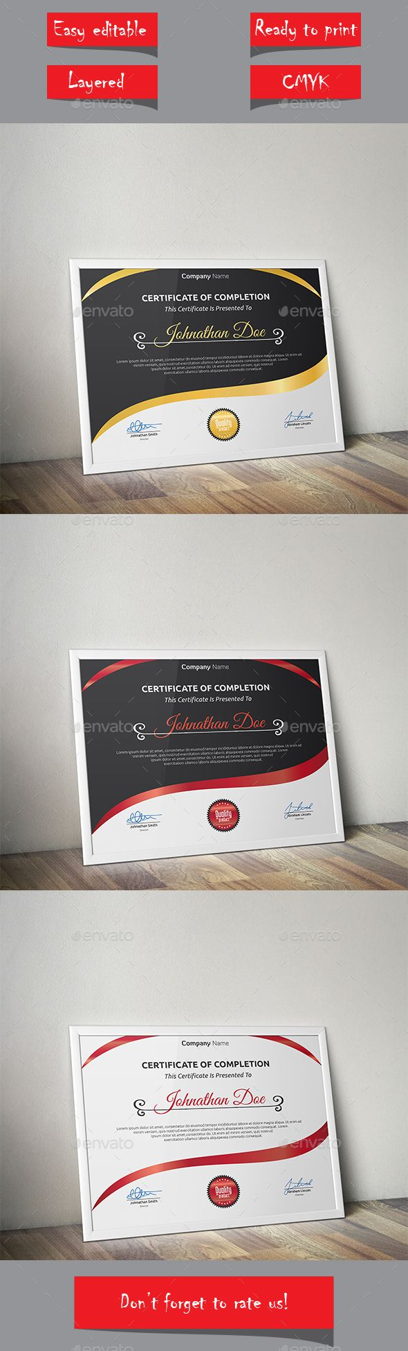 Certificate Template Vector EPS. Download here: http://graphicriver.net/item/certificate/13575430?ref=ksioks