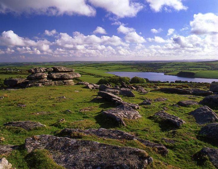 UK, Cornwall, Bodmin Moor  Tregarrick Tor