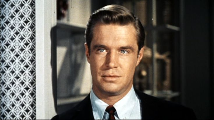 Paul Varjak aka Fred, played by the dashing George Peppard....Breakfast at Tiffany's(1961)