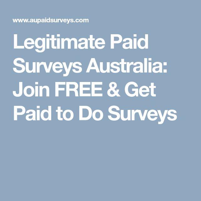 Legitimate Paid Surveys Australia: Join FREE & Get Paid to Do Surveys