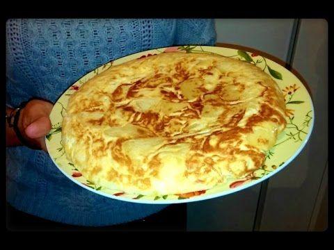 Receta de Tortilla de Patatas Española Monsieur Cuisine Lidl Silvercrest - YouTube