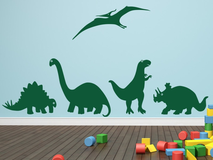 1000 ideas about dinosaur wall decals on pinterest boys for Dinosaur pictures for kids room