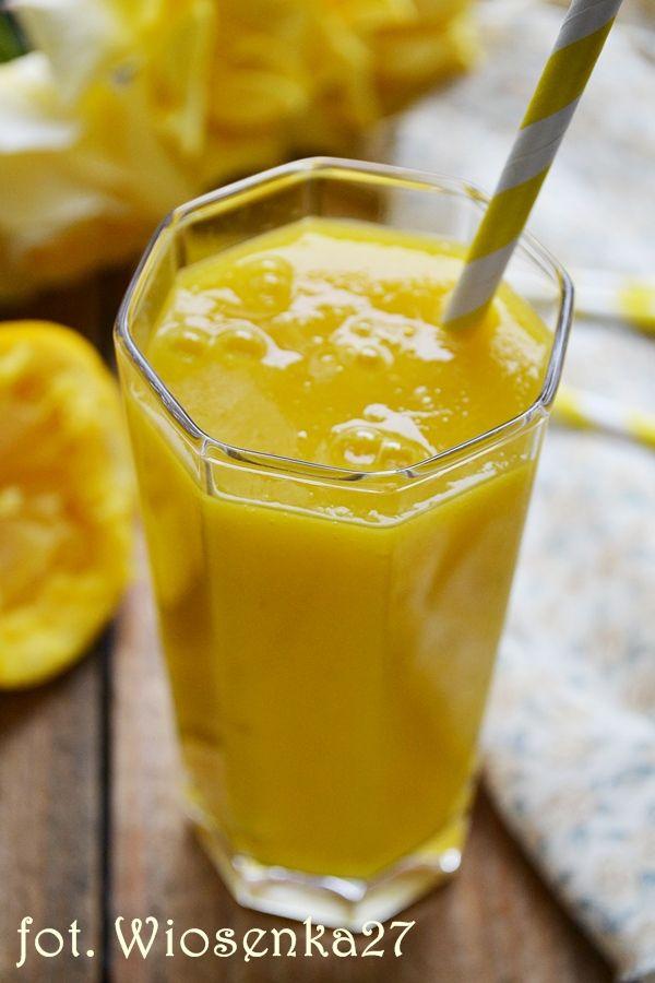 Koktajl pomarańczowy z mango